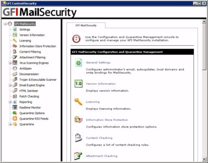 GFI MailSecurity