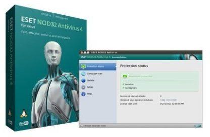ESET NOD32 Antivirus for Linux - 1 ÉV