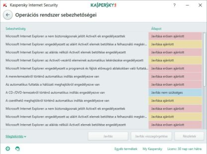 Kaspersky Internet Security - 1 gép - 1 év