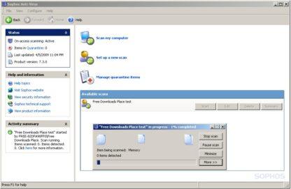 Sophos Anti-Virus Small Business Edition - 3 gép - 1 év