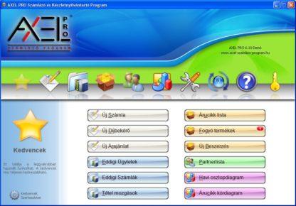 AXEL PRO LITE Számlázó Program