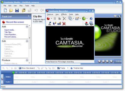 Techsmit Camtasia Studio