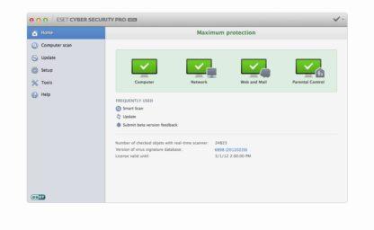 ESET Cyber Security Pro for Mac - 1 gép - 1 év