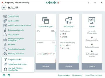 Kaspersky Internet Security - 3 gép - 1 év