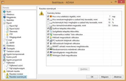 AIDA64 Network Audit, 10 gép, 1 éves követés