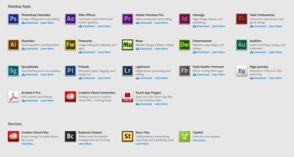 Adobe Creative Cloud for teams Üzleti Licenc - angol - 1 éves