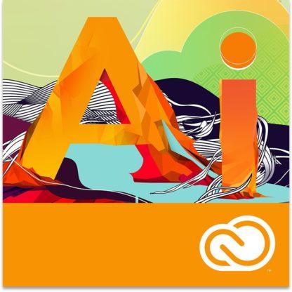 Adobe Illustrator CC - 1 éves - többnyelvű