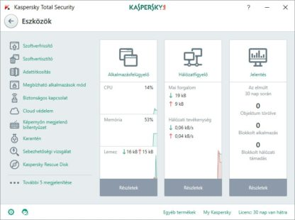 Kaspersky Total Security - 1 év - 1 gép
