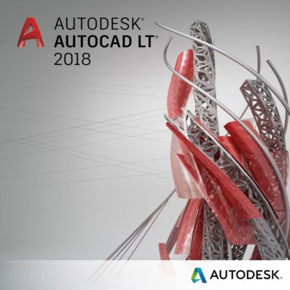 Autodesk AutoCAD LT 2018 Commercial New SLM ELD Annual Desktop Subscription with Advenced Support