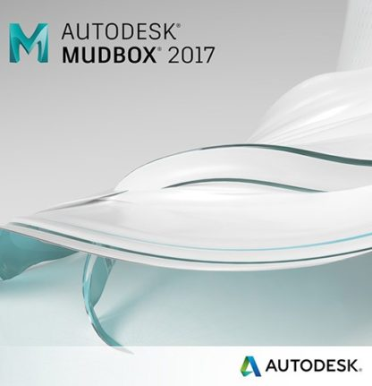 Autodesk Mudbox 2017 Commercial New Single-user ELD Annual Subscription with Basic Support