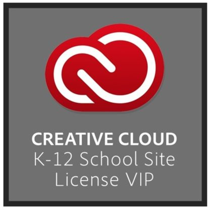 Adobe Creative Cloud K12 iskolai licence