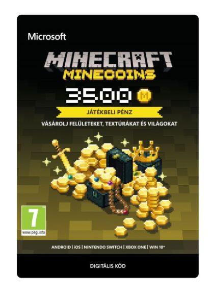 Microsoft Minecraft Virtuális fizető eszköz 3500 Coins